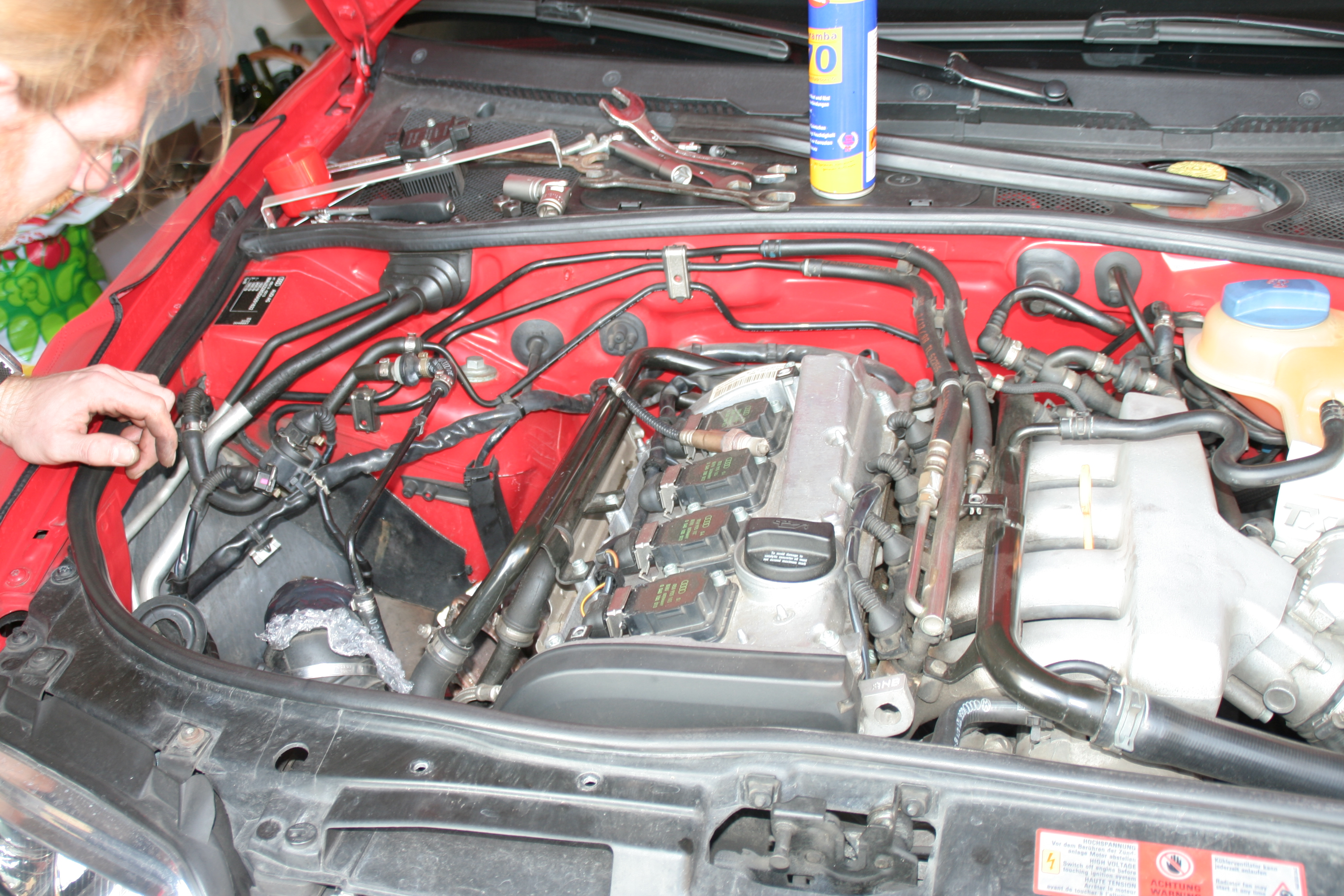Audi a4 1 8t engine bay for Audi a4 1 8 t motor for sale