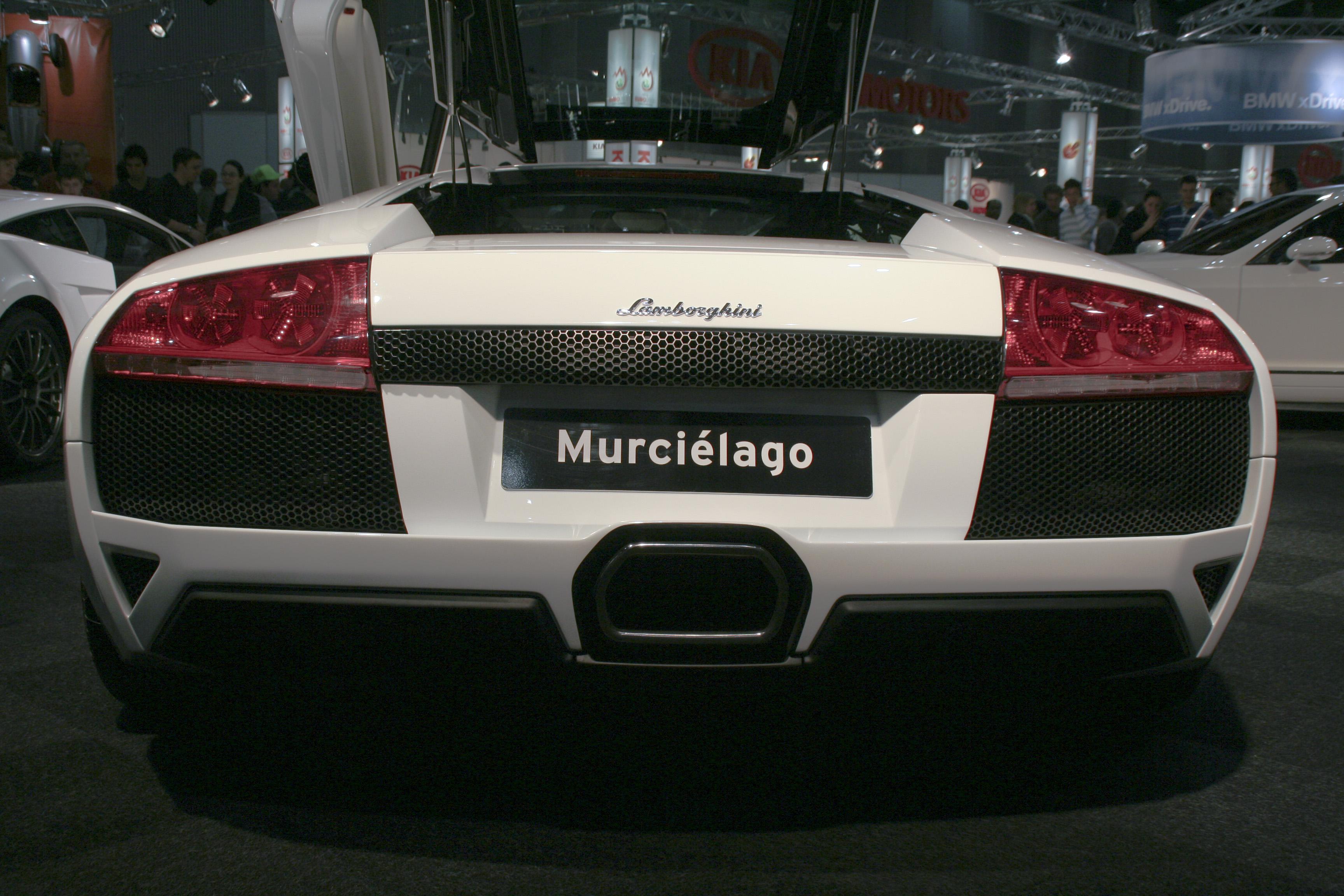 Lamborghini Murcielago Lp640 Rear