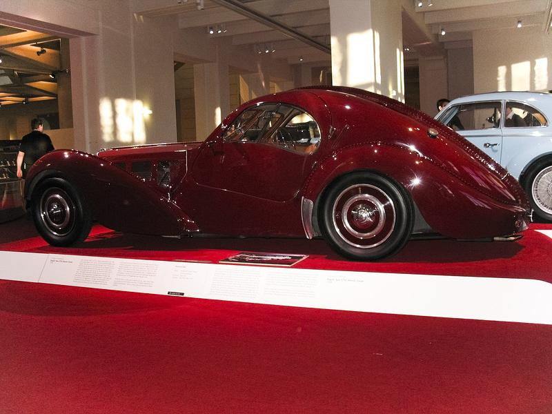 bugatti type 57sc atlantic coupe side. Cars Review. Best American Auto & Cars Review