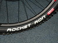 Schwalbe Rocket Ron at the front...