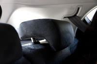 Alienlike rear headrest