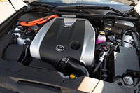 Lexus GS 450h engine bay