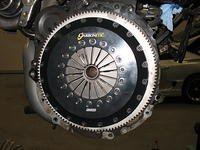 Carbonetic clutch installation