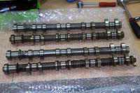 All four camshafts